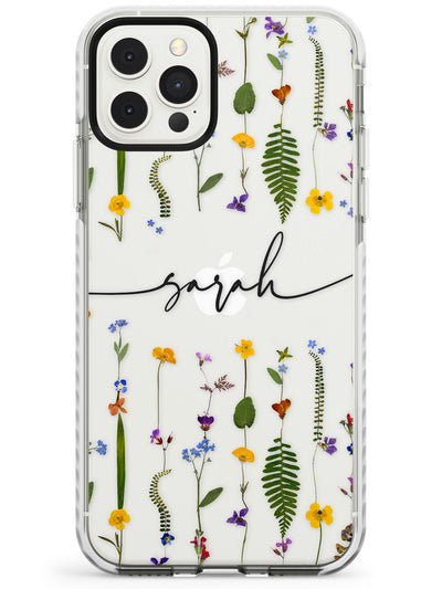 Wildflower Floral iPhone Case  Impact Case Custom Phone Case - Case Warehouse