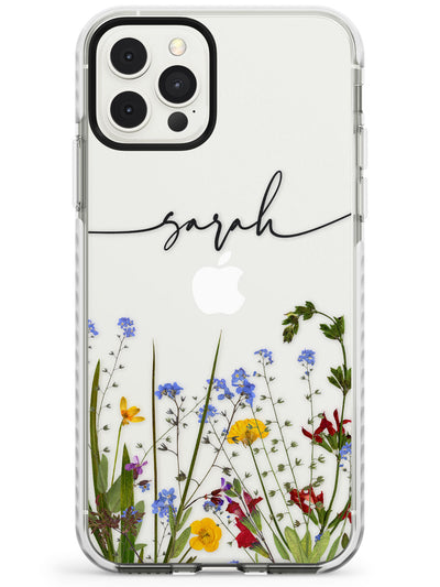 Custom Floral Border Slim TPU Phone Case for iPhone 11 Pro Max