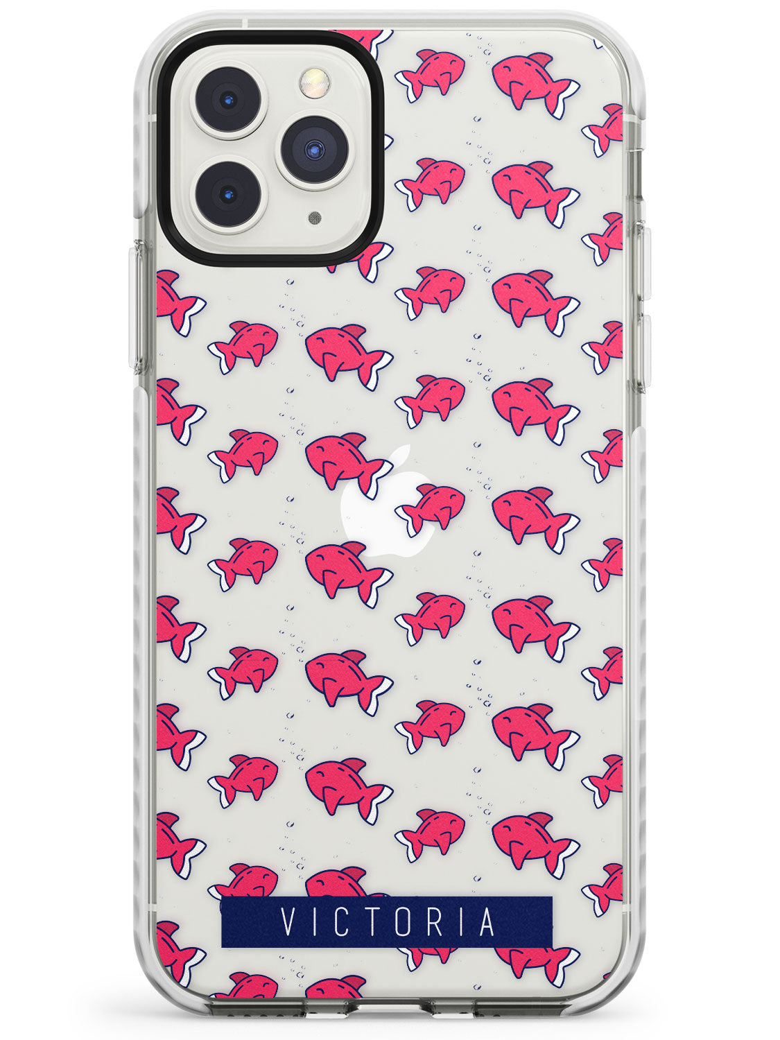 Customised Fish Pattern iPhone Case