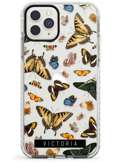 Custom Photorealistic Butterfly iPhone Case  Impact Case Custom Phone Case - Case Warehouse