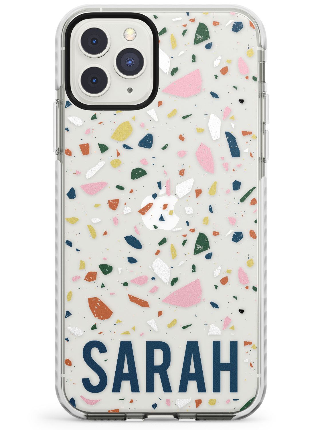 Customised Terrazzo - Pink, Blue, Yellow iPhone Case
