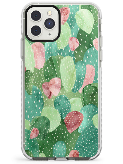 Colourful Cactus Mix Design Impact Phone Case for iPhone 11 Pro Max