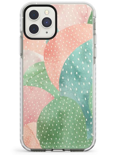 Colourful Close-Up Cacti Design Impact Phone Case for iPhone 11 Pro Max