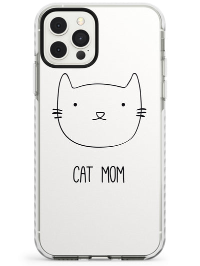 Cat Mom - White Impact Phone Case for iPhone 11 Pro Max
