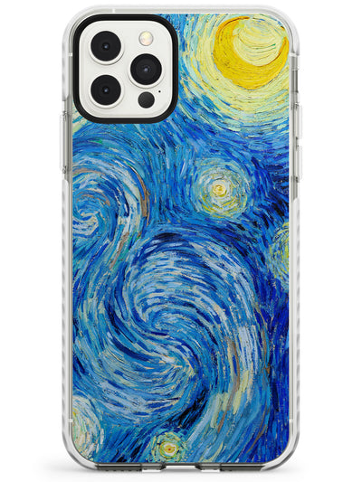 The Starry Night by Vincent Van Gogh Slim TPU Phone Case for iPhone 11 Pro Max