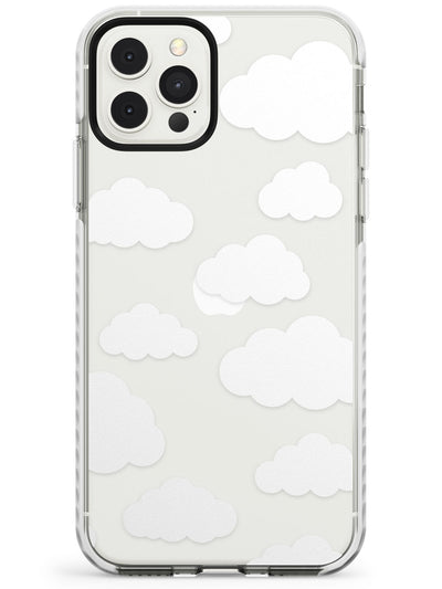 Transparent Cloud Pattern Impact Phone Case for iPhone 11 Pro Max
