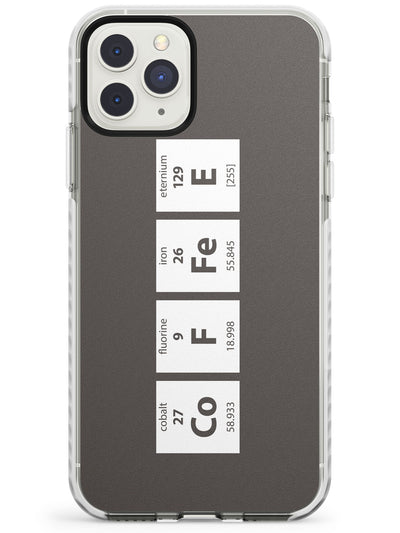 Coffee Element (Grey) Impact Phone Case for iPhone 11 Pro Max