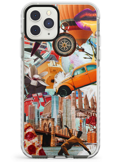 Vintage Collage: New York Mix Impact Phone Case for iPhone 11 Pro Max