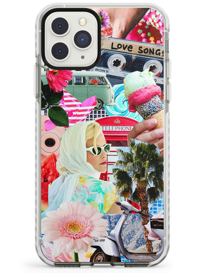 Vintage Collage: Retro Glamour Impact Phone Case for iPhone 11 Pro Max
