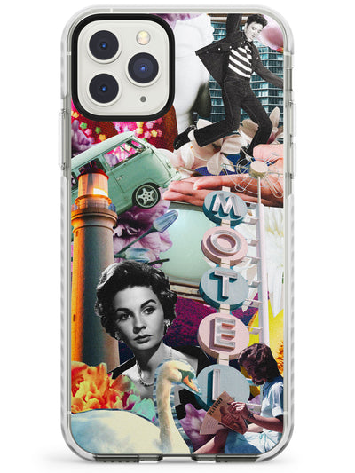 Vintage Collage: Retro Motel Impact Phone Case for iPhone 11 Pro Max