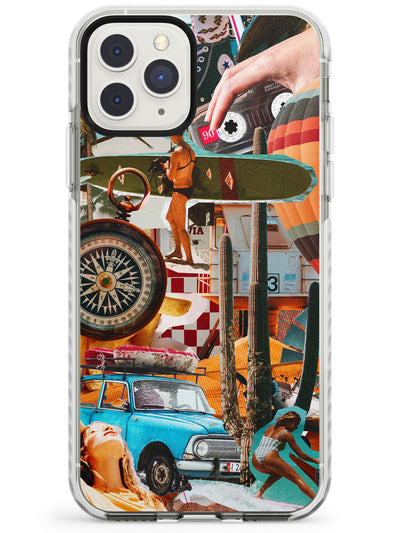 Vintage Collage: Road Trip Impact Phone Case for iPhone 11 Pro Max