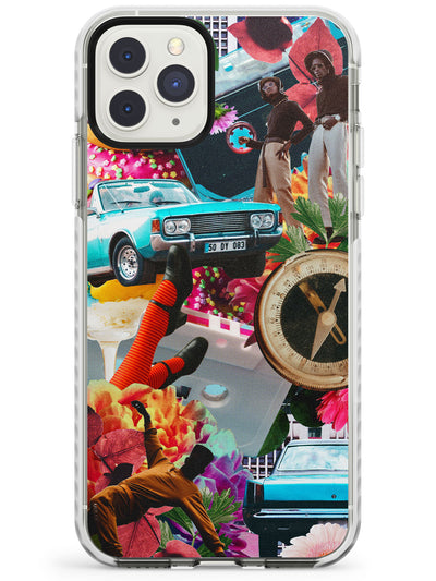 Vintage Collage: Old School Cool Impact Phone Case for iPhone 11 Pro Max