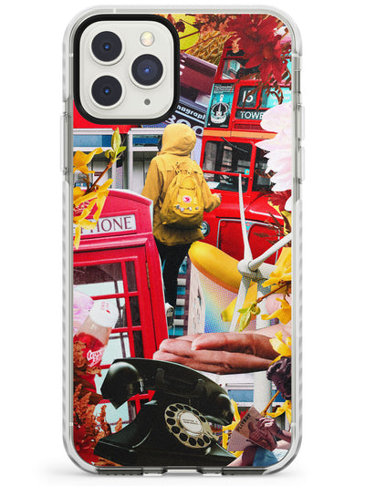 Vintage Collage: Travel Impact Phone Case for iPhone 11 Pro Max