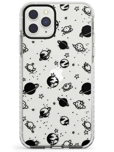 Planets iPhone Case  Impact Case Phone Case - Case Warehouse