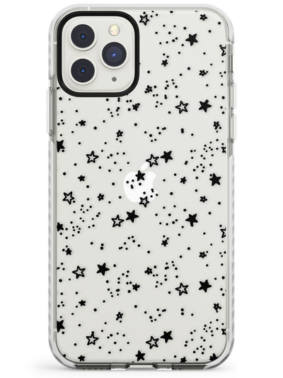 Mixed Stars Impact Phone Case for iPhone 11 Pro Max