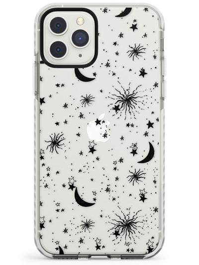 Moons & Stars Impact Phone Case for iPhone 11 Pro Max