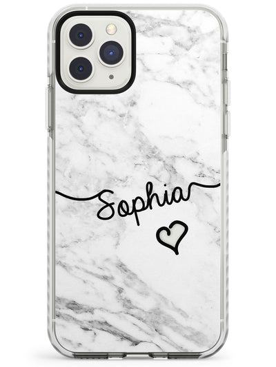 White Marble iPhone Case  Impact Case Custom Phone Case - Case Warehouse