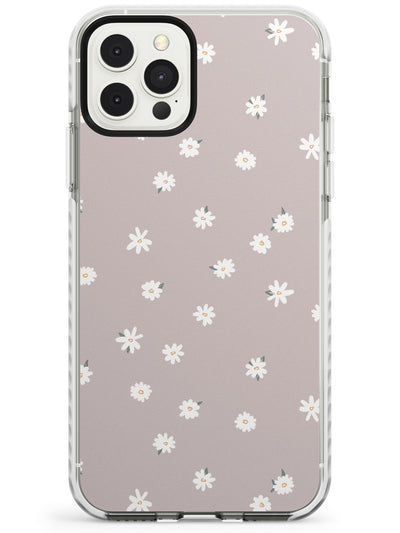Dark Pink Cute Floral Design Impact Phone Case for iPhone 11 Pro Max