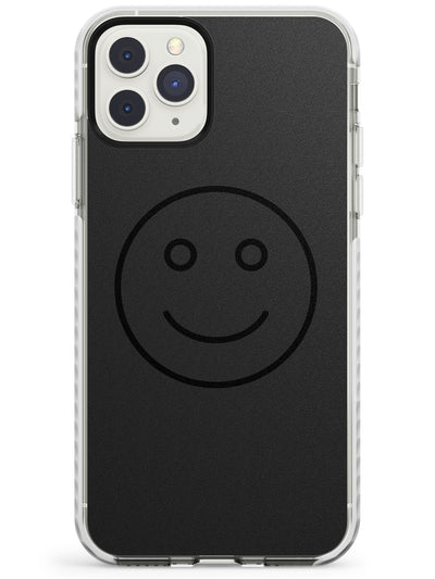 Dark Smiley Face Impact Phone Case for iPhone 11 Pro Max