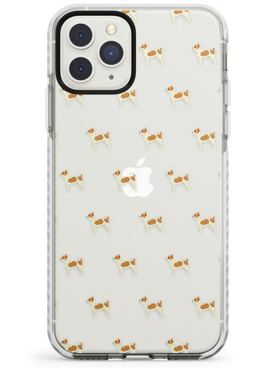 Chihuahua Dog Pattern Clear Impact Phone Case for iPhone 11 Pro Max