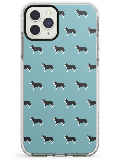Husky Dog Pattern Impact Phone Case for iPhone 11 Pro Max