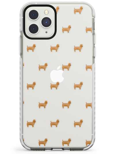 "Yorkshire Terrier ""Yorkie"" Dog Pattern Clear Impact Phone Case for iPhone 11 Pro Max"