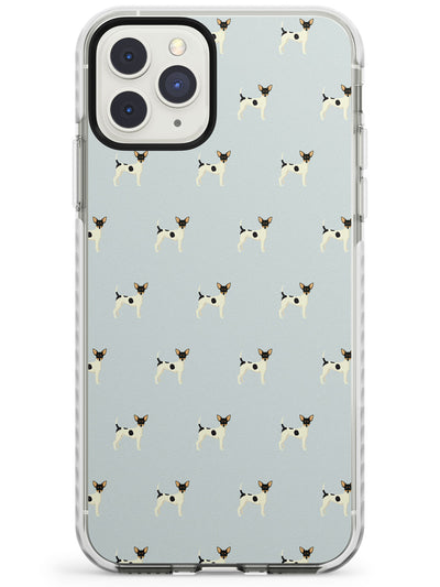 Toy Fox Terrier Dog Pattern Impact Phone Case for iPhone 11 Pro Max