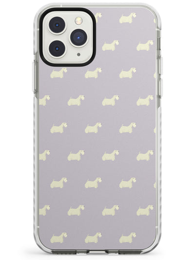 Sealyham Terrier Dog Pattern Impact Phone Case for iPhone 11 Pro Max