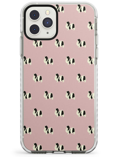 Japanese Chin Dog Pattern Impact Phone Case for iPhone 11 Pro Max