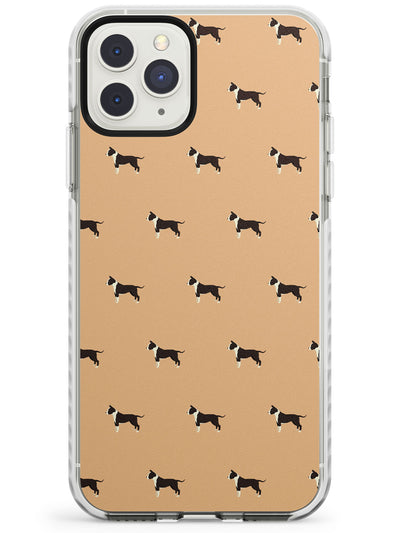 "Staffordshire Terrier ""Staffie"" Dog Pattern Impact Phone Case for iPhone 11 Pro Max"