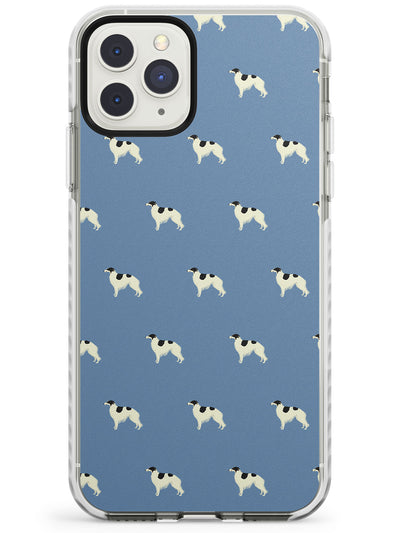 Borzoi Dog Pattern Impact Phone Case for iPhone 11 Pro Max