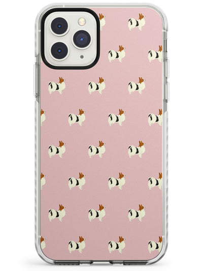 Papillon Dog Pattern Impact Phone Case for iPhone 11 Pro Max