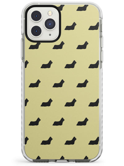 Skye Terrier Dog Pattern Impact Phone Case for iPhone 11 Pro Max