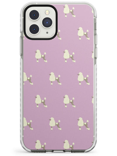 Poodle Dog Pattern Impact Phone Case for iPhone 11 Pro Max