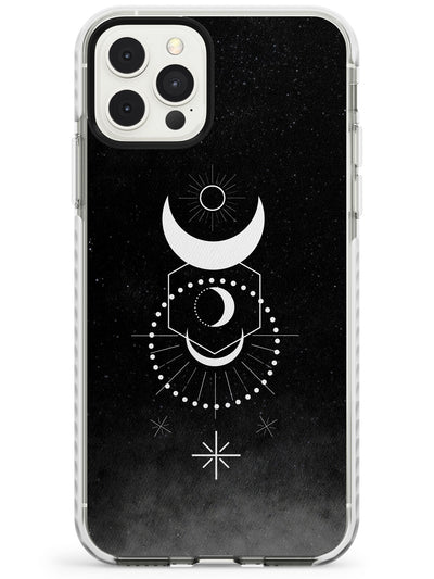 Large Moon Mandala Slim TPU Phone Case for iPhone 11 Pro Max