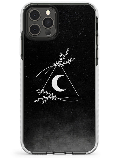 Crescent Moon Pyramid Slim TPU Phone Case for iPhone 11 Pro Max