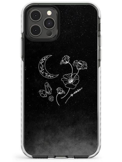 Crescent Moon Collection Slim TPU Phone Case for iPhone 11 Pro Max