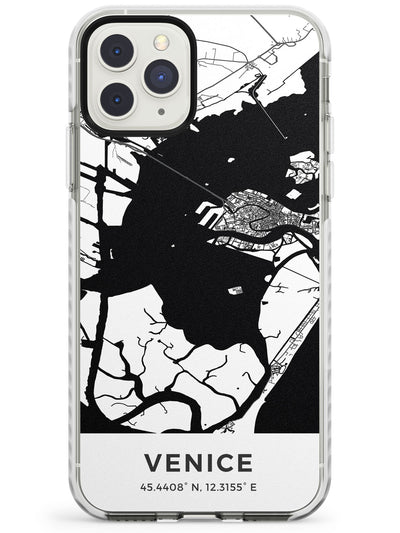 Map of Venice, Italy Impact Phone Case for iPhone 11 Pro Max