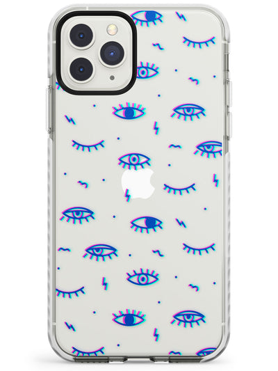 Duotone Psychedelic Eyes  Impact Case Phone Case - Case Warehouse