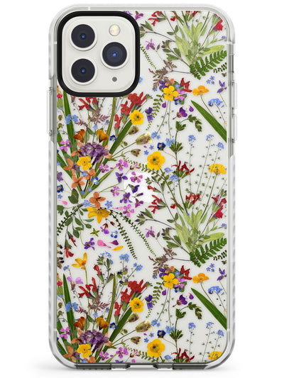 Wildflower & Leaves iPhone Case  Impact Case Phone Case - Case Warehouse