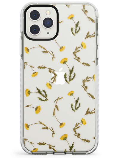 Long Stemmed Wildflowers - Dried Flower-Inspired Impact Phone Case for iPhone 11 Pro Max