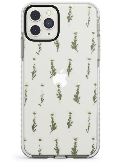 White Flowers - Dried Flower-Inspired Design Impact Phone Case for iPhone 11 Pro Max