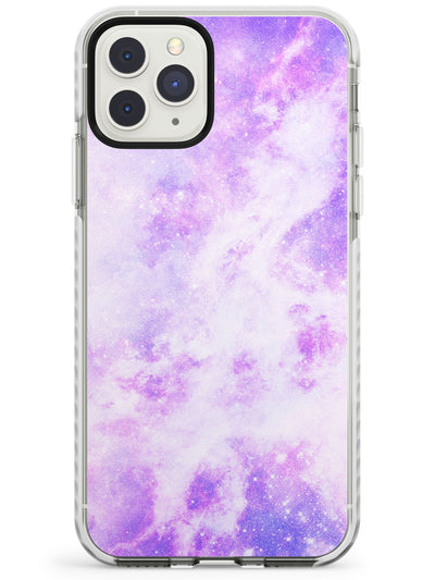 Purple Galaxy Pattern Design Impact Phone Case for iPhone 11 Pro Max
