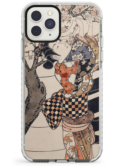 Vintage Japan Impact Phone Case for iPhone 11 Pro Max