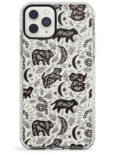 Leafy Bears Impact Phone Case for iPhone 11 Pro Max