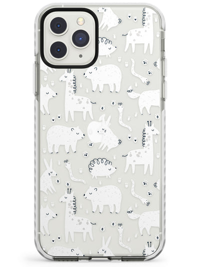 Adorable Animals Impact Phone Case for iPhone 11 Pro Max
