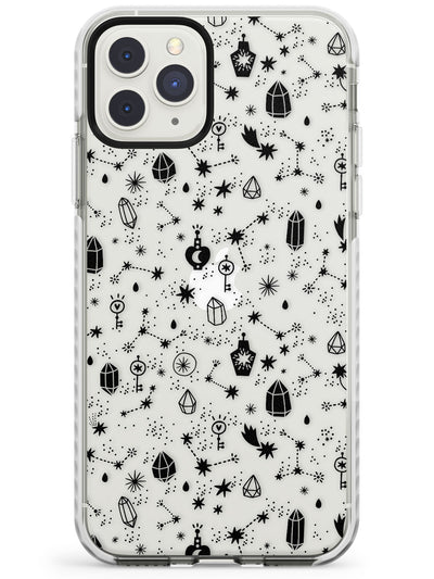 Black Magic Impact Phone Case for iPhone 11 Pro Max
