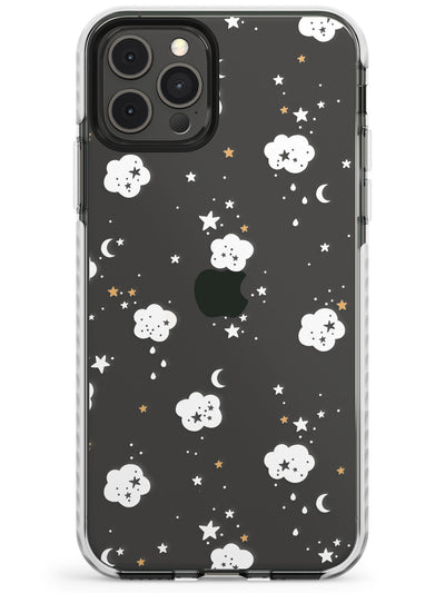 Stars & Clouds Slim TPU Phone Case for iPhone 11 Pro Max