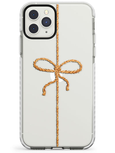 Twine Bow & String Impact Phone Case for iPhone 11 Pro Max