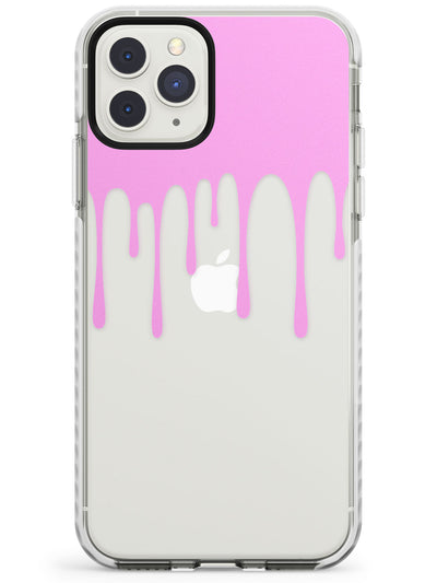 Melted Effect: Pink & Teal iPhone Case Impact Phone Case Warehouse 11 Pro Max